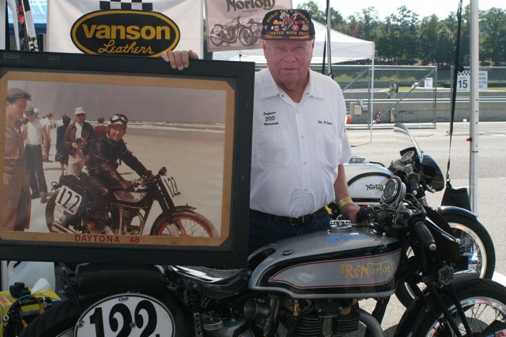 Bob McKeever, Norton Manx Racing
